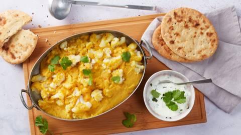 Linsen-Blumenkohl-Curry