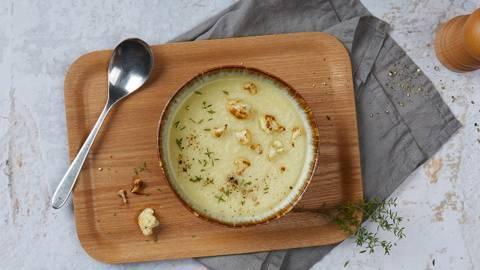 Cremige Blumenkohlsuppe