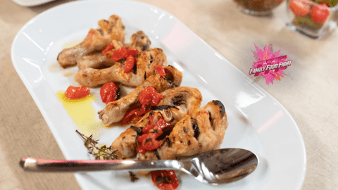 Family Food Fight: Poulet nach Sizilianischer Art