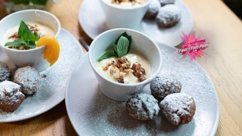Family Food Fight: Kokosbällchen mit Fruchtcreme