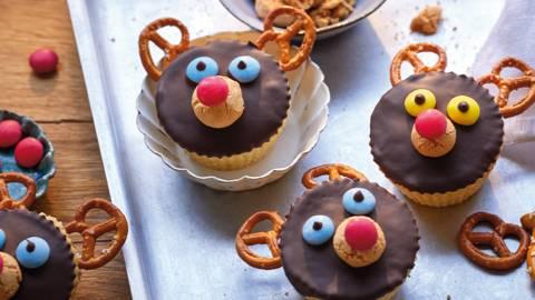 Rudolph-Cupcakes