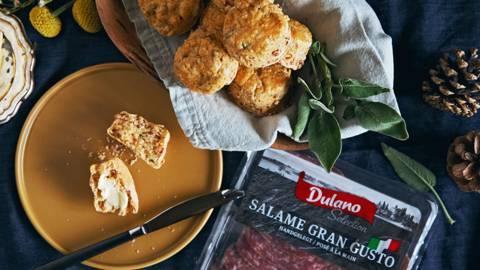 Salami-Salbei-Scones