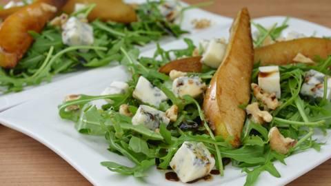 Rucolasalat mit Gorgonzola