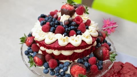 Family Food Fight: Petras Red Velvet Cake