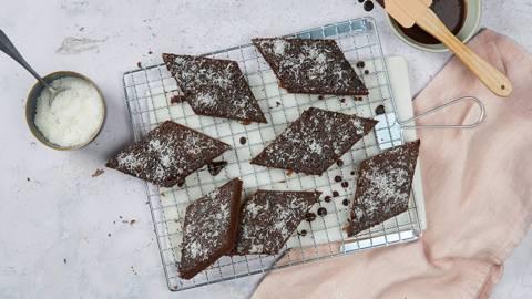 Schokoladen-Kokos-Kuchen