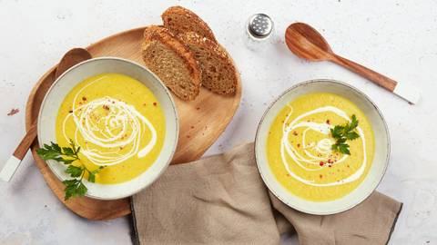 Pastinaken-Rüebli-Cremesuppe