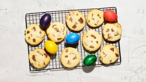 Schoggihasen-Cookies