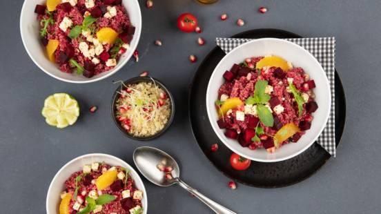 Quinoa-Randen Bowl
