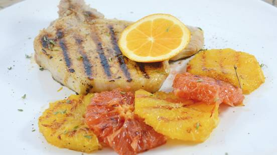 Orangen-Koteletts