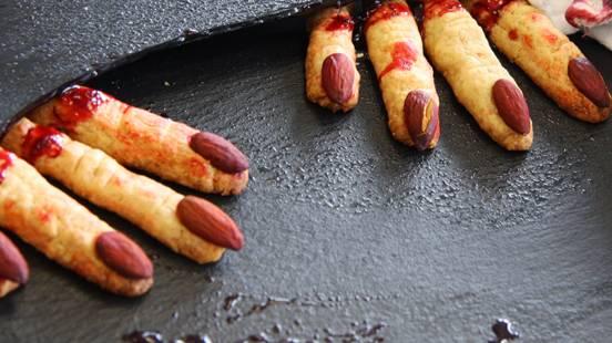 Halloween Finger-Kekse