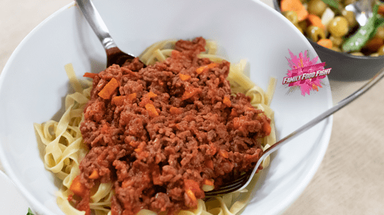 Family Food Fight: Tagliatelle mit Tomatensauce
