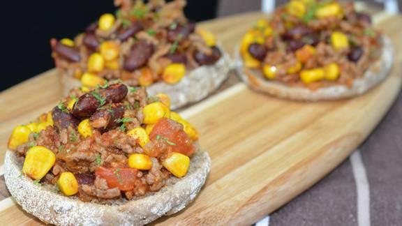 Chili con carne Toasties