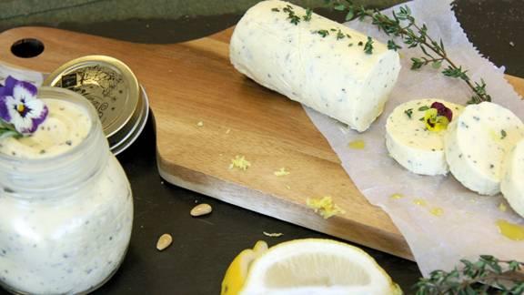 Thymian Zitronen Butter