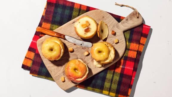 Raclette Äpfel
