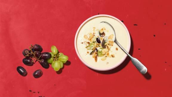 Blumenkohlsuppe mit Crunch