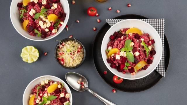 Quinoa-Rote-Bete Bowl