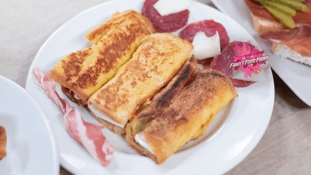 Family Food Fight: Schinken-Käse-Rolle