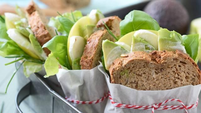 Mehrkornbrot-Sandwiches