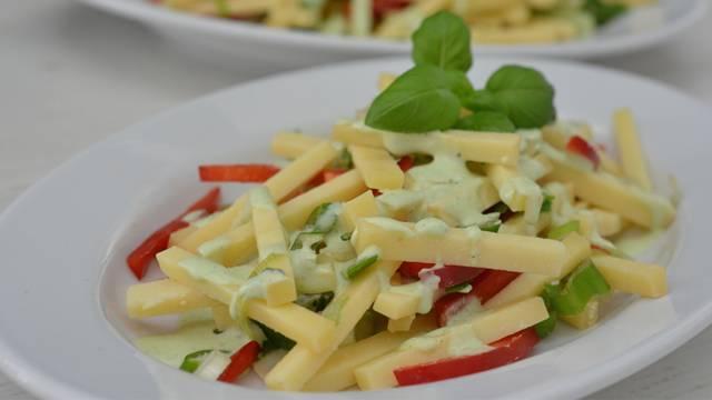 Gruyère-Salat