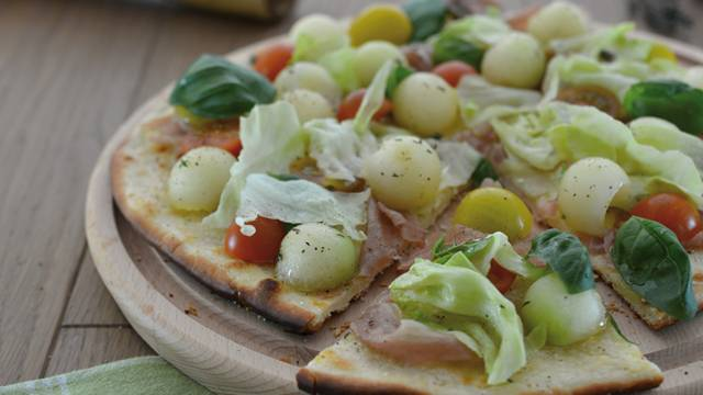 Sommerpizza vom Grill