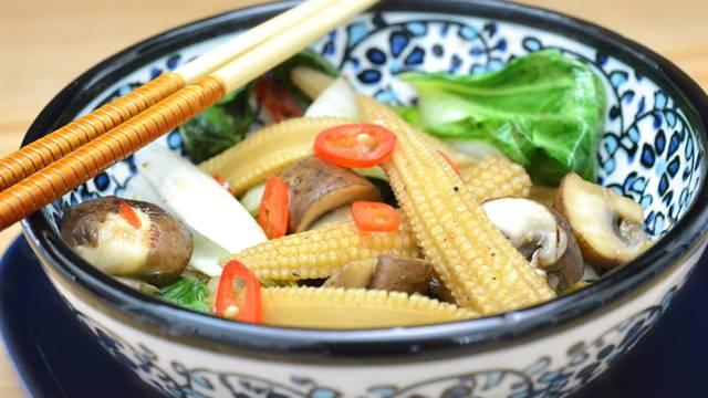 Gemüse-Wok