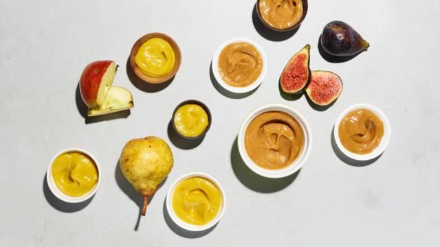 Frucht-Senf-Variation