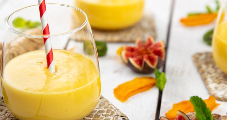 Veganes Mango-Lassi