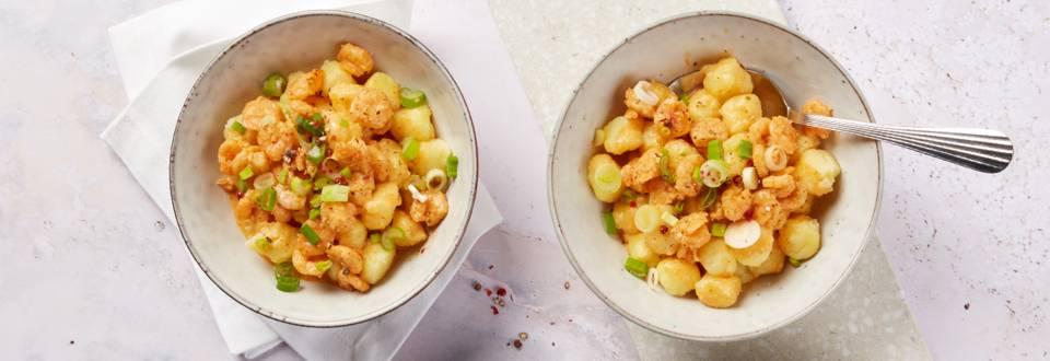 Gnocchi mit Rahm-Crevetten