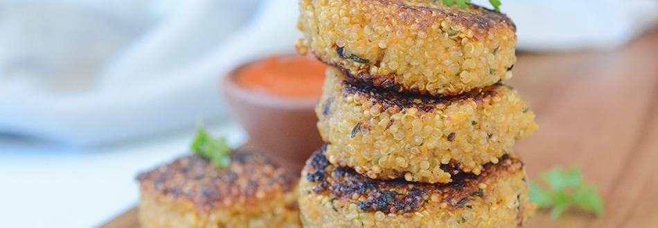 Quinoa-Tätschli