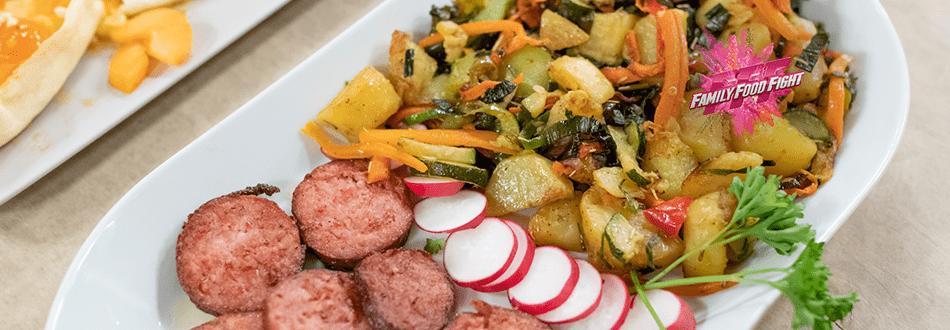 Family Food Fight: Kabab Kachalu (Karfoffelgericht)