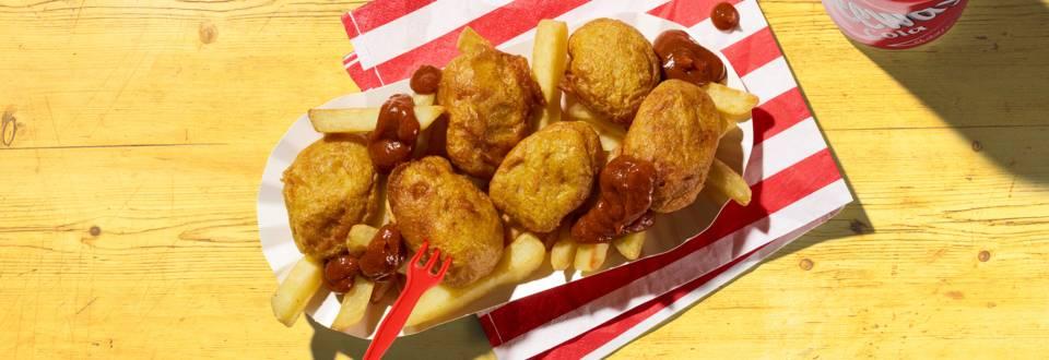 Bratwurst-Nuggets