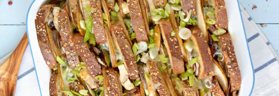 Baguette-Auflauf