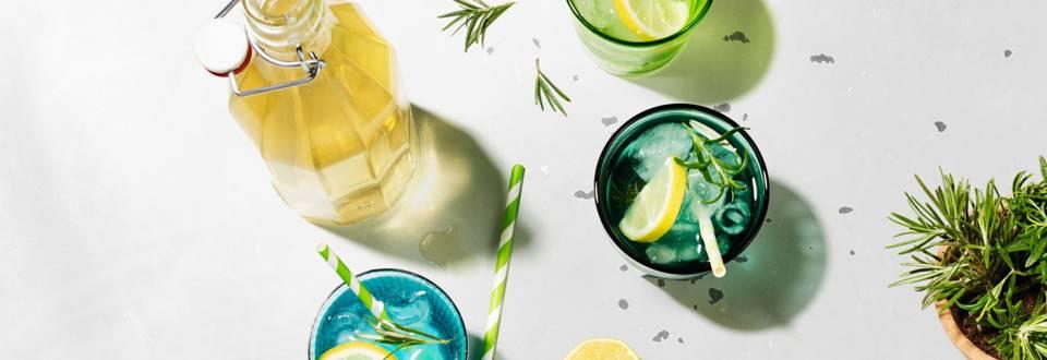 Zitronen-Rosmarin-Sirup