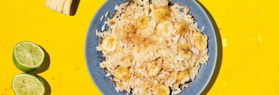 Bananen-Reis-Powerpfännchen