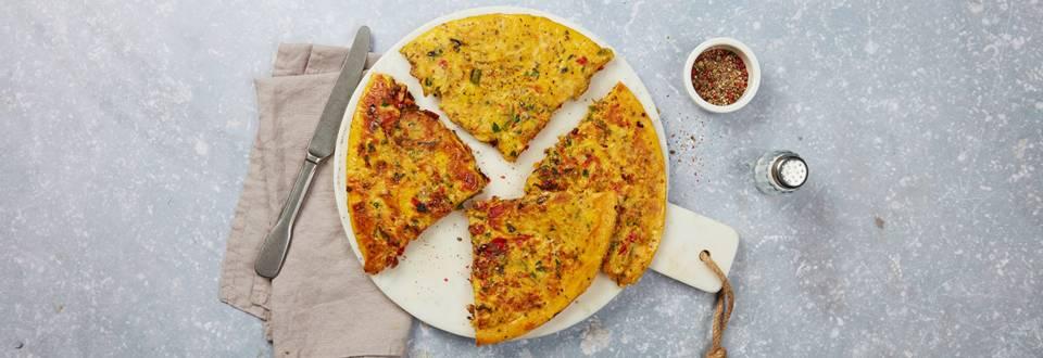 Peperoni-Halloumi-Omelette