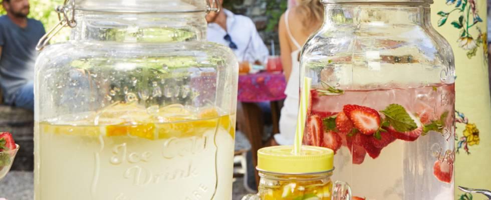 Erfrischende Sommer-Limonade